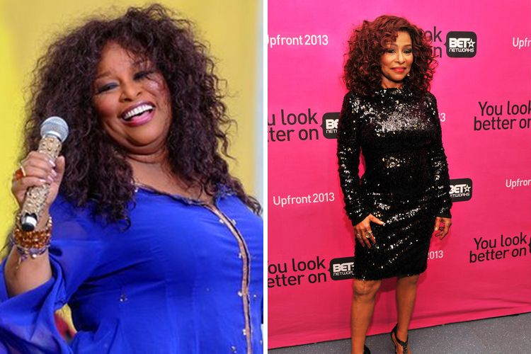 Queen Of Funk Chaka Khan Fights Off The Weight