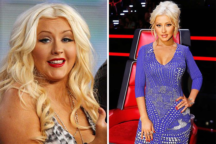Pop Princess Christina Aguilera Sheds Weight And Pop Star Image