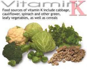 Foods High in Vitamin K