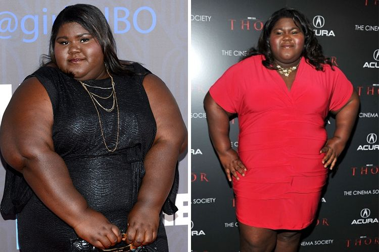 Gabourey Sidibe's Grin These Days Tells All About Her Famous Weight Loss