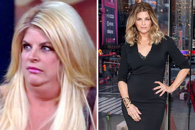 Kirstie Alley's Weight Loss Battles As Famous As Her Acting Career