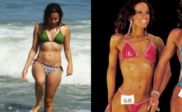 Tracy DeEscobar Transformed - Eating Disorder to Figure Competitor