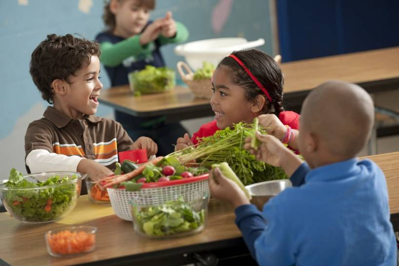 Teaching Children About Healthy Food