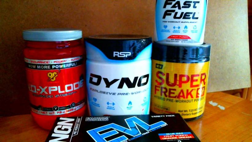 Top Pre Workout Supplements